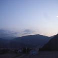 09山の夕暮れ